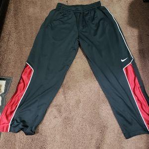 Nike exercise, track pants